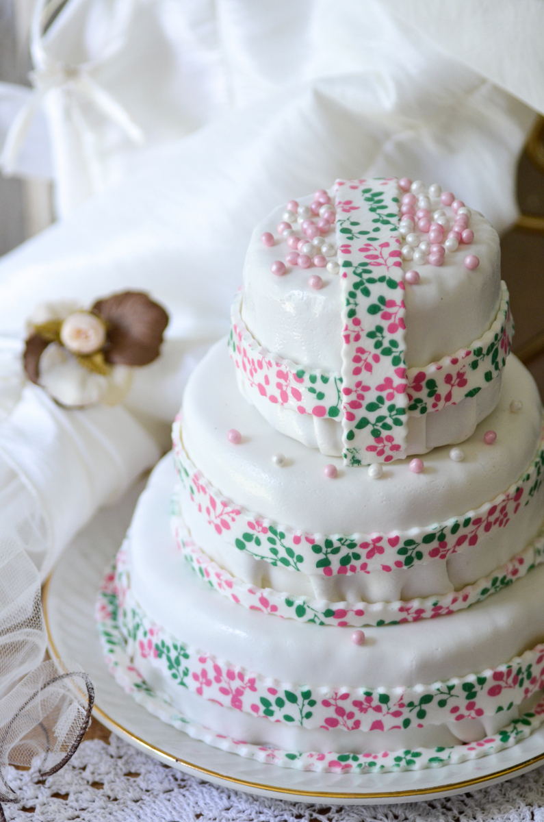 Faire soi-même un wedding cake,recette