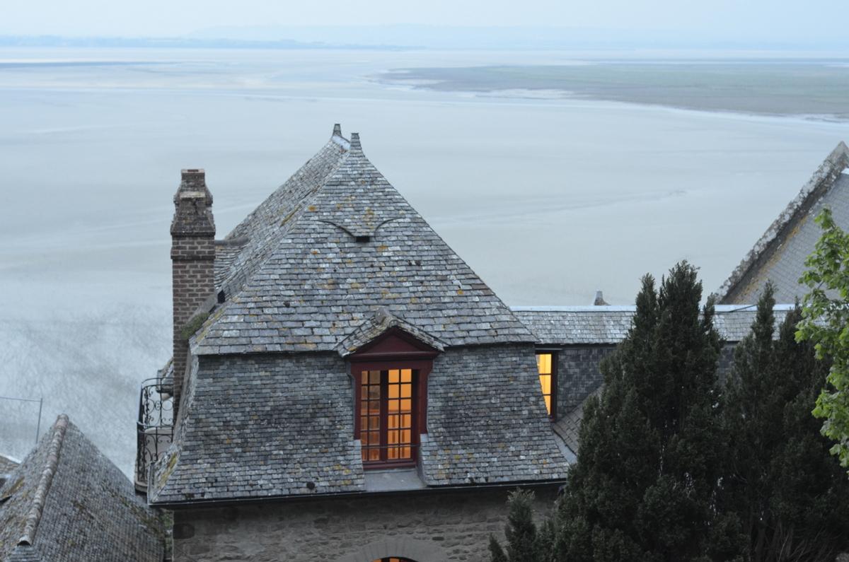 vue baie mont saint michel