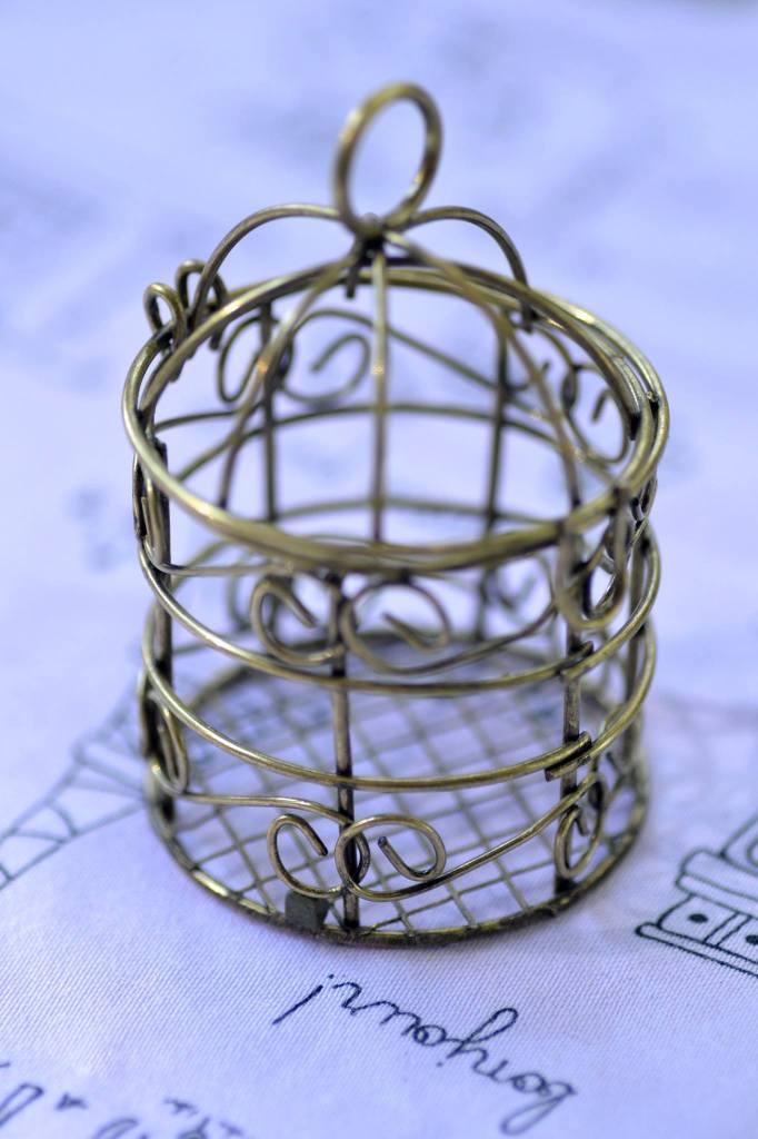 Photophore cage à oiseau