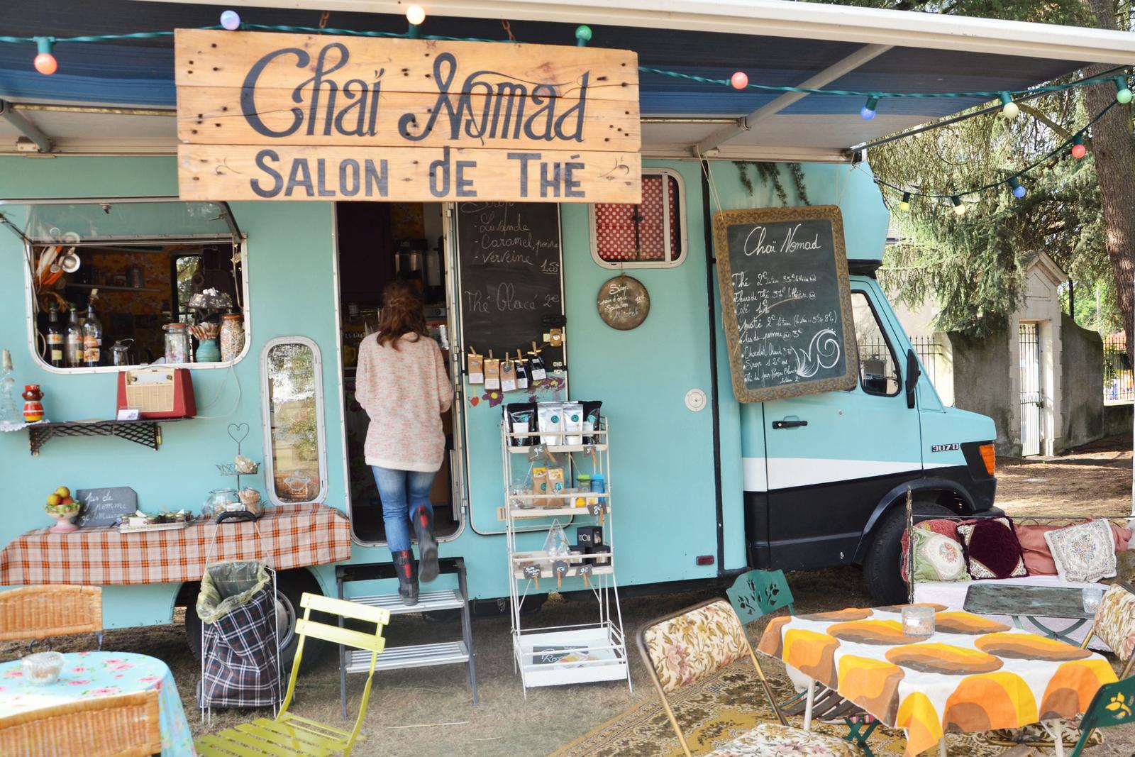 cha nomad le food truck salon de th les capricieuses