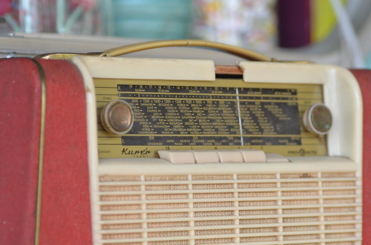 Chaï Nomad poste radio rétro